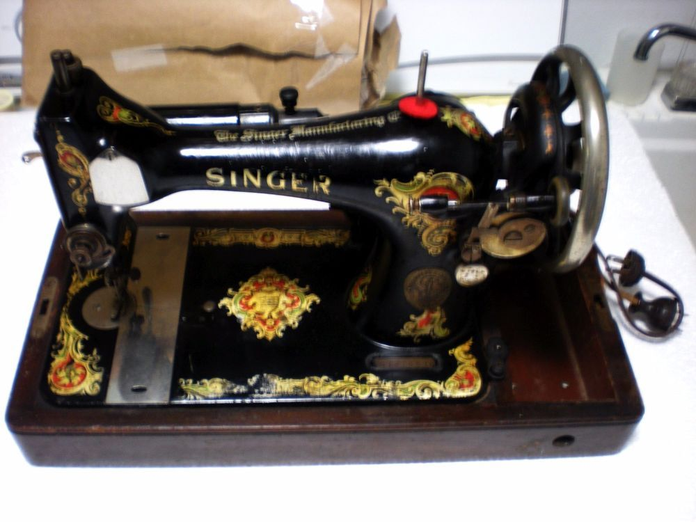 ANTIQUE 40 SINGER SEWING MACHINE MODEL 40 SERIAL G 40 Cool Husqvarna Sewing Machine Repairs Melbourne