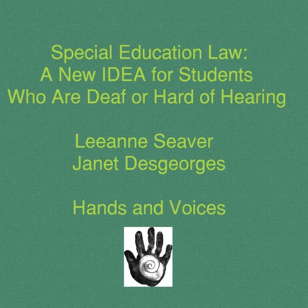 Special Education Law A New Idea For Students Who Are