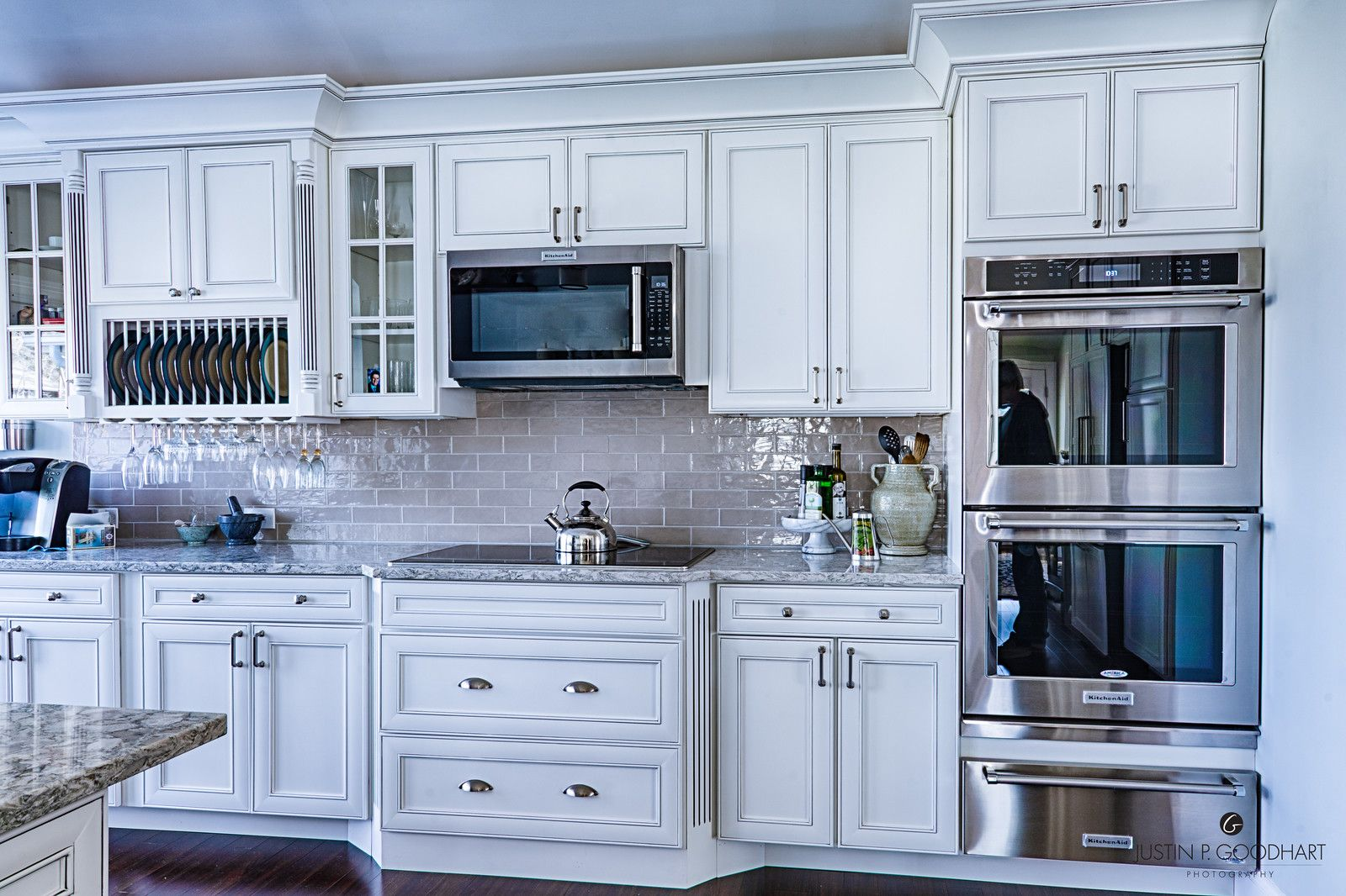 Image result for farmhouse kitchen with glazed white ...