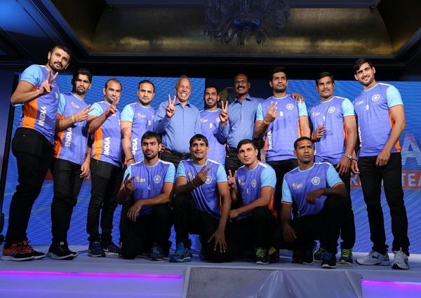 Indian Kabaddi Squad For Forthcoming 2016 World Cup Has Been Announced 2 Times World Cup Kabaddi World Cup Squad