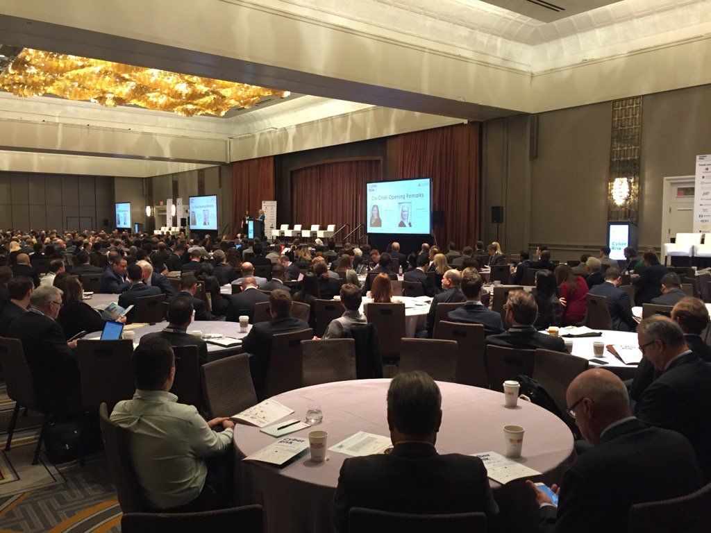 Full House At Yesterday S Advisen Cyberrisk Conference Commercial Insurance Underwriting Insight