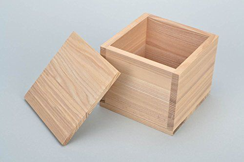 Wooden Craft Boxes To Decorate Alluring Handmade Natural Wooden Square Box With Lid Craft Blank For Inspiration Design