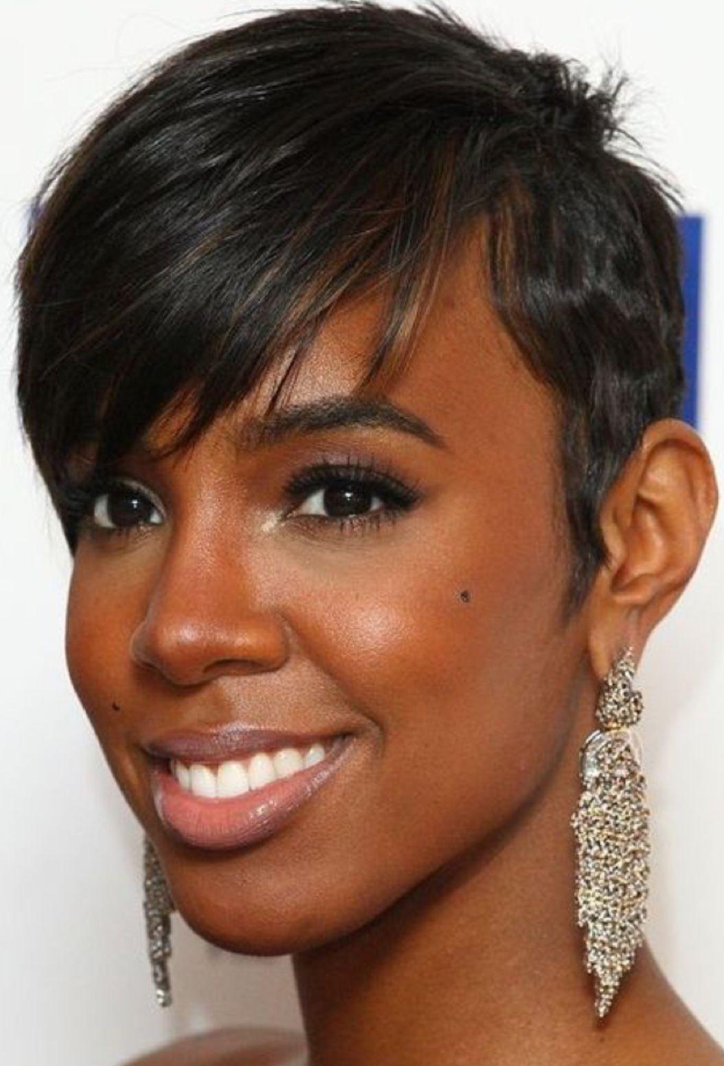 Kelly Rowland Nia Long Short Hair Short Relaxed Hairstyles Short Hair Styles