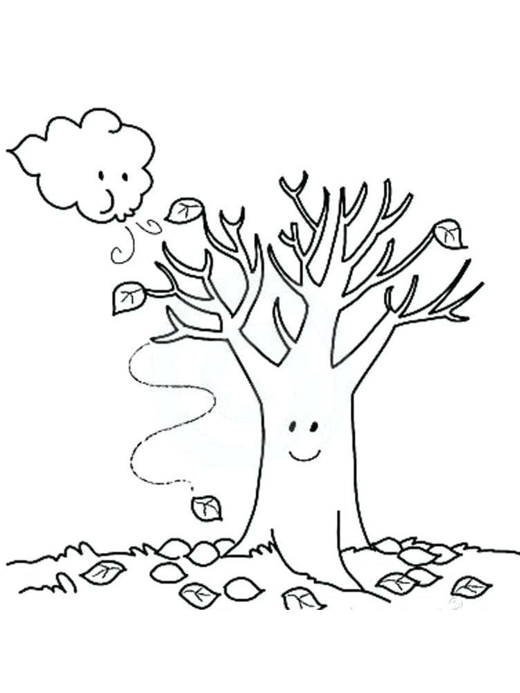 Fall Coloring Pages Leaves Fall Is A Special Season Fall Is Identical To Leaves That Change Color From Fall Coloring Pages Tree Coloring Page Coloring Pages