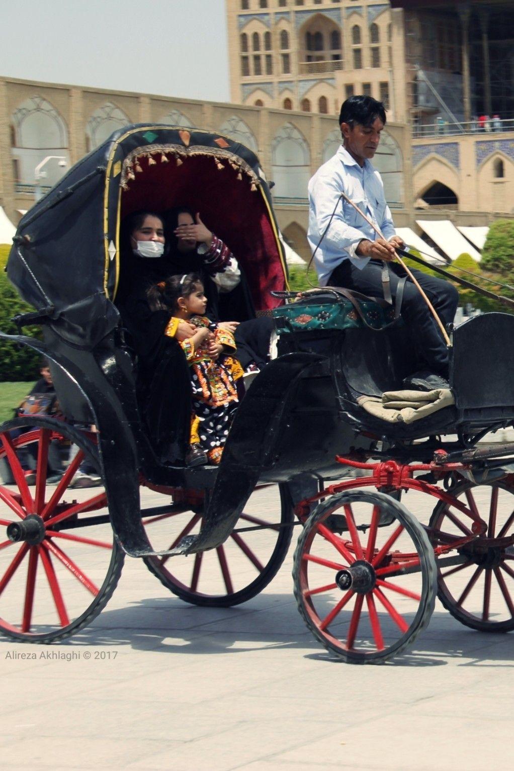 درشکه چی های اصفهان carriage isfahan naghshejahan