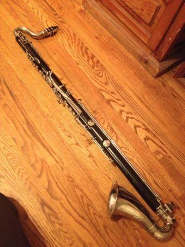 Amati Kraslice Vintage Professional Bass Clarinet Low C Grenadilla Wood ACL 392