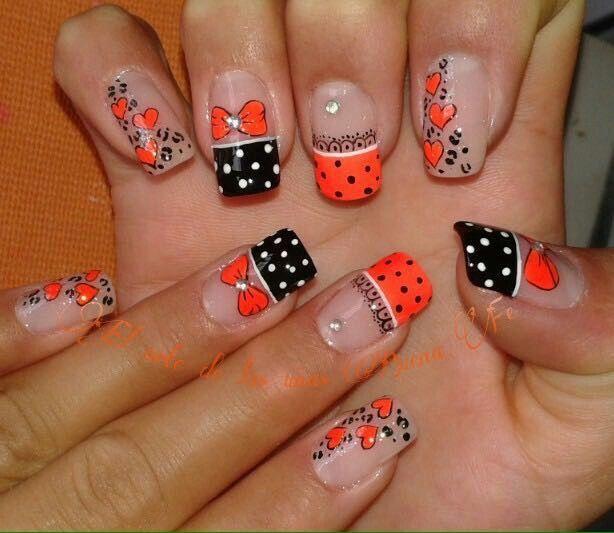 El arte de las uñas buena fe   nails   Pinterest