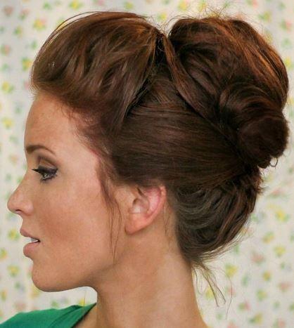 Tuto coiffure mariage 2014 coiffure invit e de mariage chignon flou flou et chignon - Chignon mariage simple ...