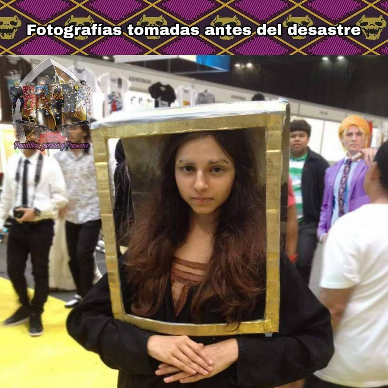 """Photos taken seconds before disaster"" Jojo bizarre"
