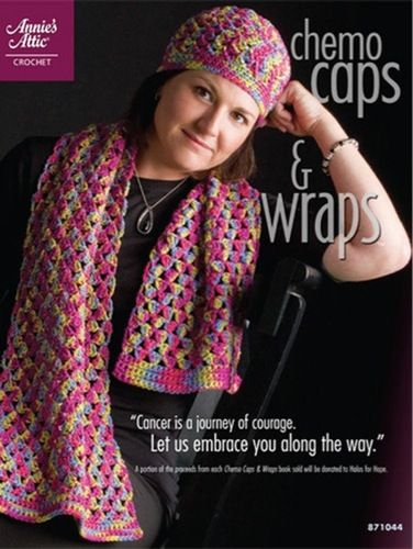 Chemo Caps Wraps Crochet Book Includes Patterns To Make Soft Caps