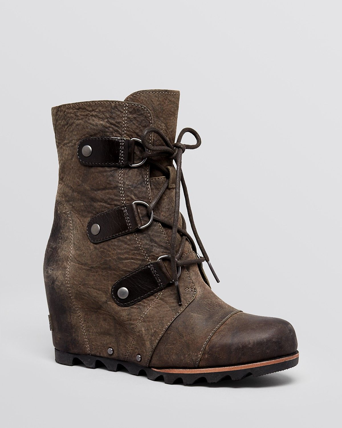 Sorel Waterproof Cold Weather Wedge Lace Up Boots - Joan of Arctic |  Bloomingdale's
