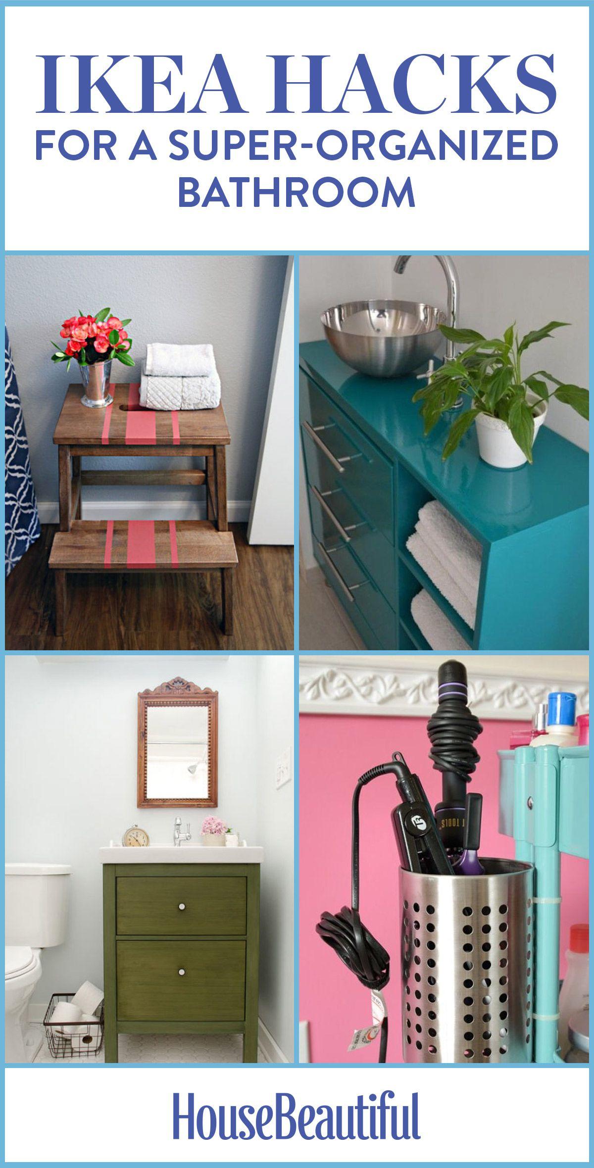11 Brillant IKEA Hacks for a Super-Organized Bathroom