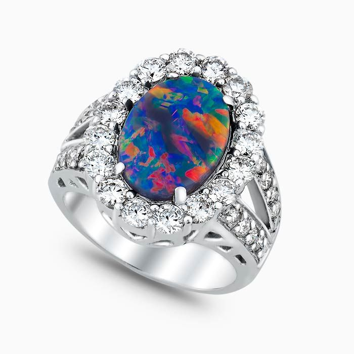 nyshowplace jensen black rings georg opal vintage ring