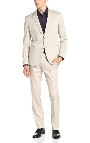 50dca4e949 Theory Men's Kris HL Balance Suit Jacket, Seed, 36 ❤ Theory mens child code