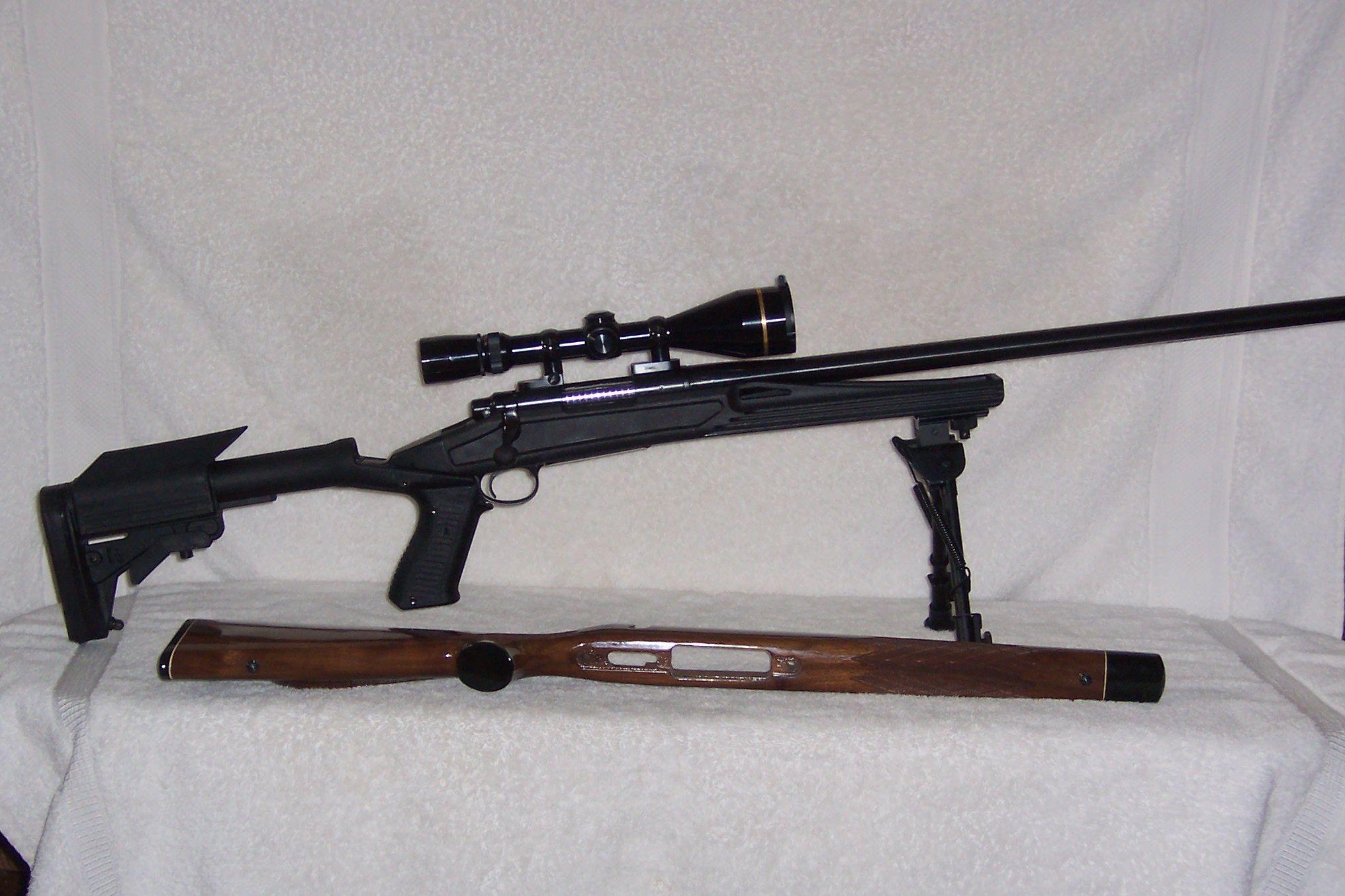 Remington 700 6MM heavy barrel with new stock  | 308 | 무기 및 전투기