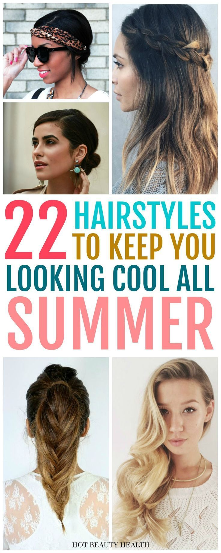 trendy u easy summer hairstyles beauty pinterest bob braids