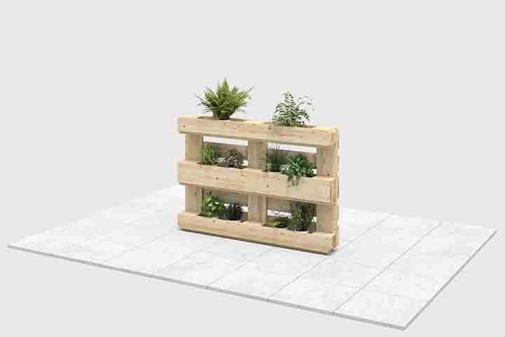 Pflanzregal Grunlich Create By Obi Selber Bauen Mobel Aus Paletten Pflanzenregale