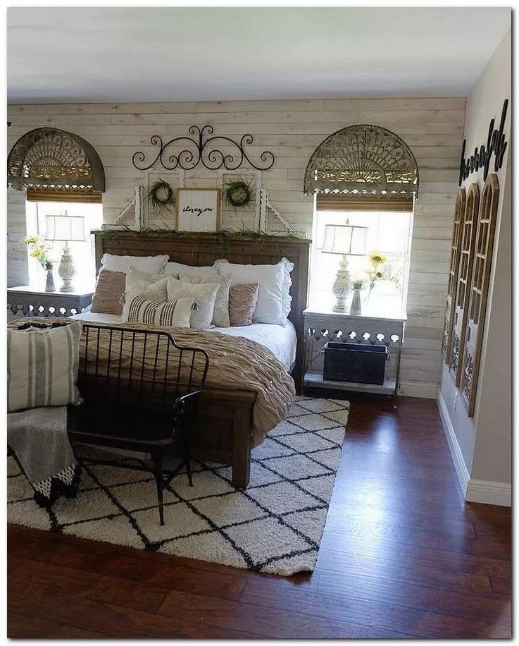 50 Cozy Farmhouse Master Bedroom Remodel Ideas: 32 How To Create A Master Bedroom Ideas That Is Cozy And
