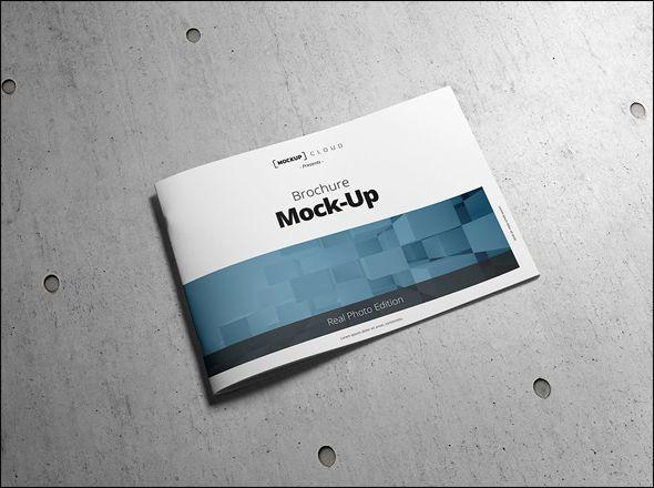 Free Corporate Business Brochure Template Designs - Landscape brochure template