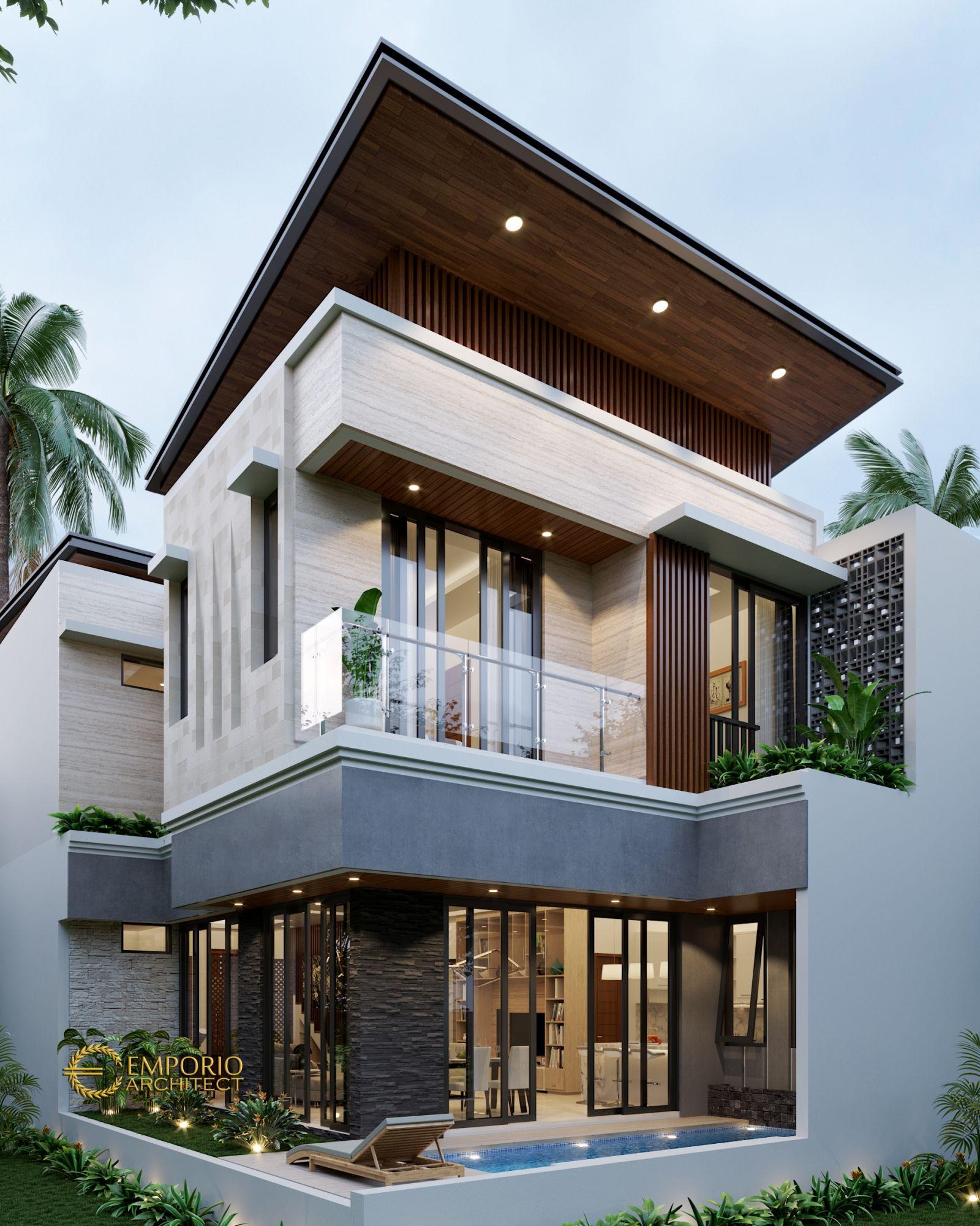 Jasa Arsitek Jakarta Timur Cipayung Desain Rumah Bapak Boyke Desain Rumah Bungalow Desain Rumah 2 Lantai Desain Rumah Kontemporer