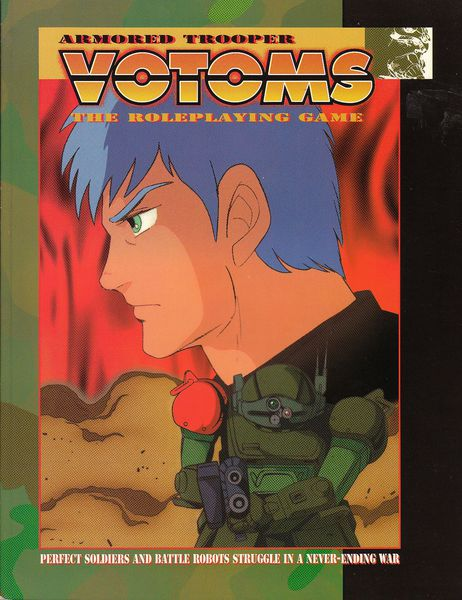 Armored Trooper Votoms The RolePlaying Game Image