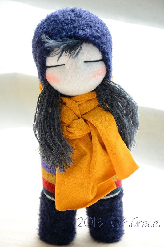 Grace--#233 sock doll