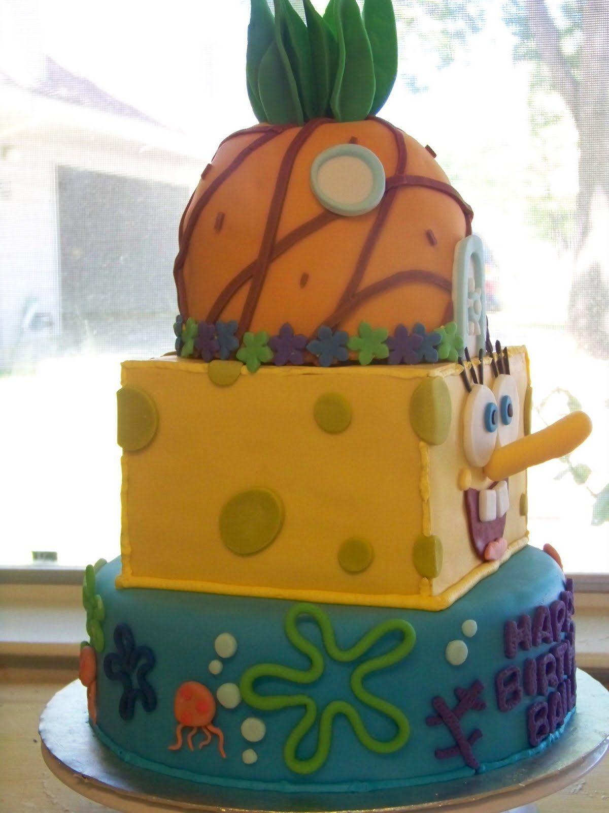 Diy Spongebob Cake