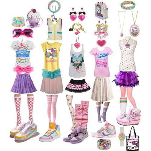fairy kei | fairy kei inspired by mikanbouya featuring pink shoes