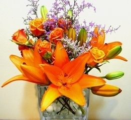 Lily cube everyday flowers pinterest order flowers online lily cube floral shopsflower deliverypalm mightylinksfo