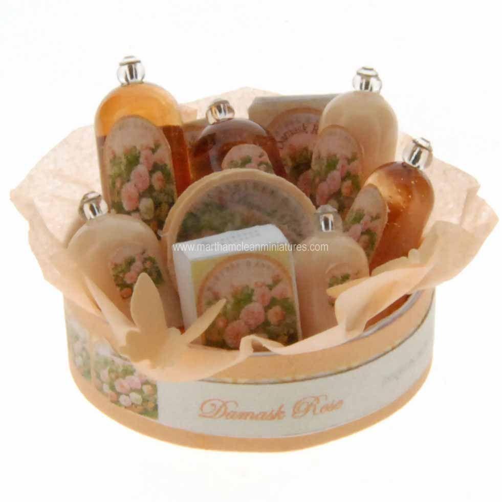 Martha Mclean Miniaturas - miniaturas internacionales de casa de muñecas artesanales y hechos a mano arreglos florales casa de muñecas