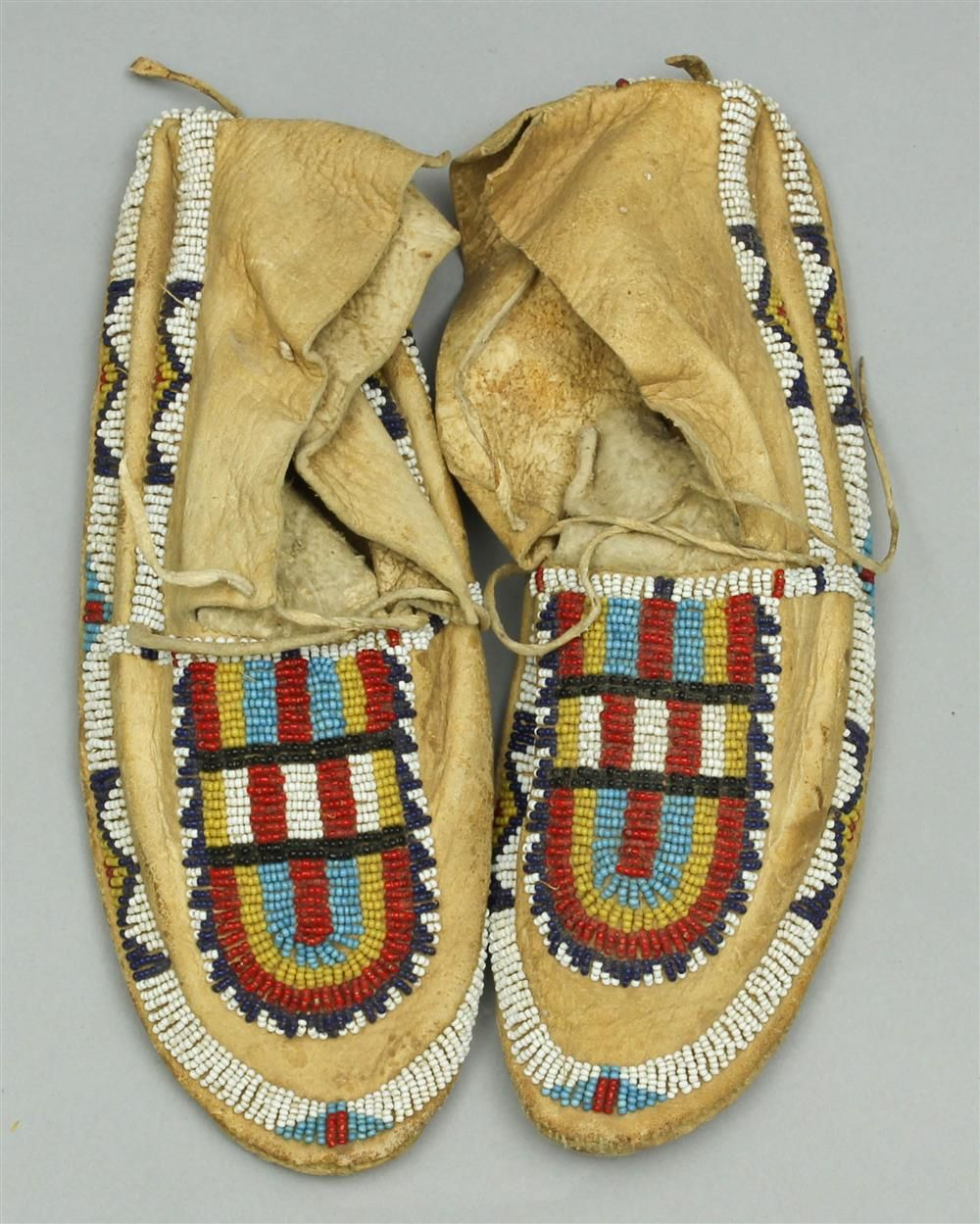 Cheyenne womans moccasins