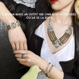 Art Deco Chain Swag Statement Necklace | Chloe + Isabel