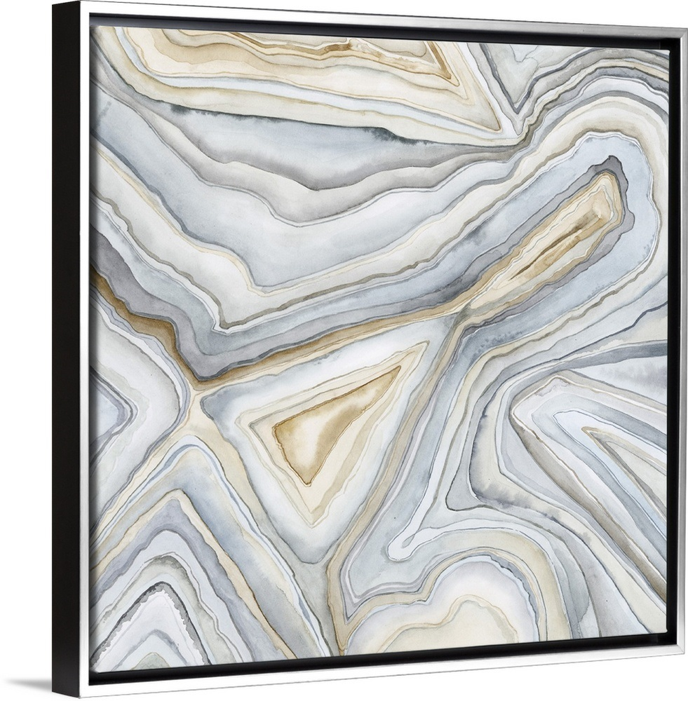 Agate Abstract I Abstract Canvas Art Abstract Framed Art Prints