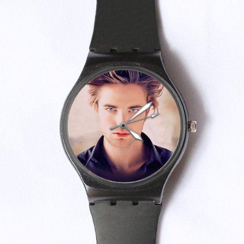 Custom Robert Pattinson Watches Classic Black Pla ($13.99)