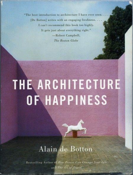 The Architecture Of Happiness Alain De Botton Alain De Botton