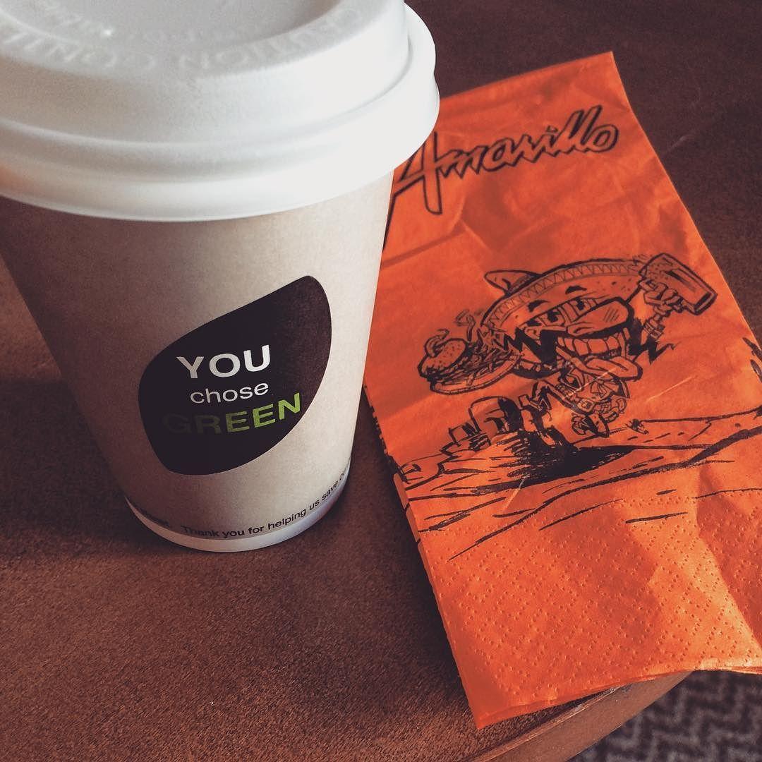 Free cup of coffee yay! #amarillo #takeawaycoffee #ontheroad #happyaboutlittlethings #thankful #ilmaistakahvia #nam #tienpäällä #hyväfiilis #pieniäiloja by ninnuberg