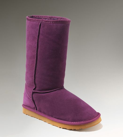 da5e28bc64e UGG Tall Classic 5815 Purple Boots - Oooh, I'd like to have these ...
