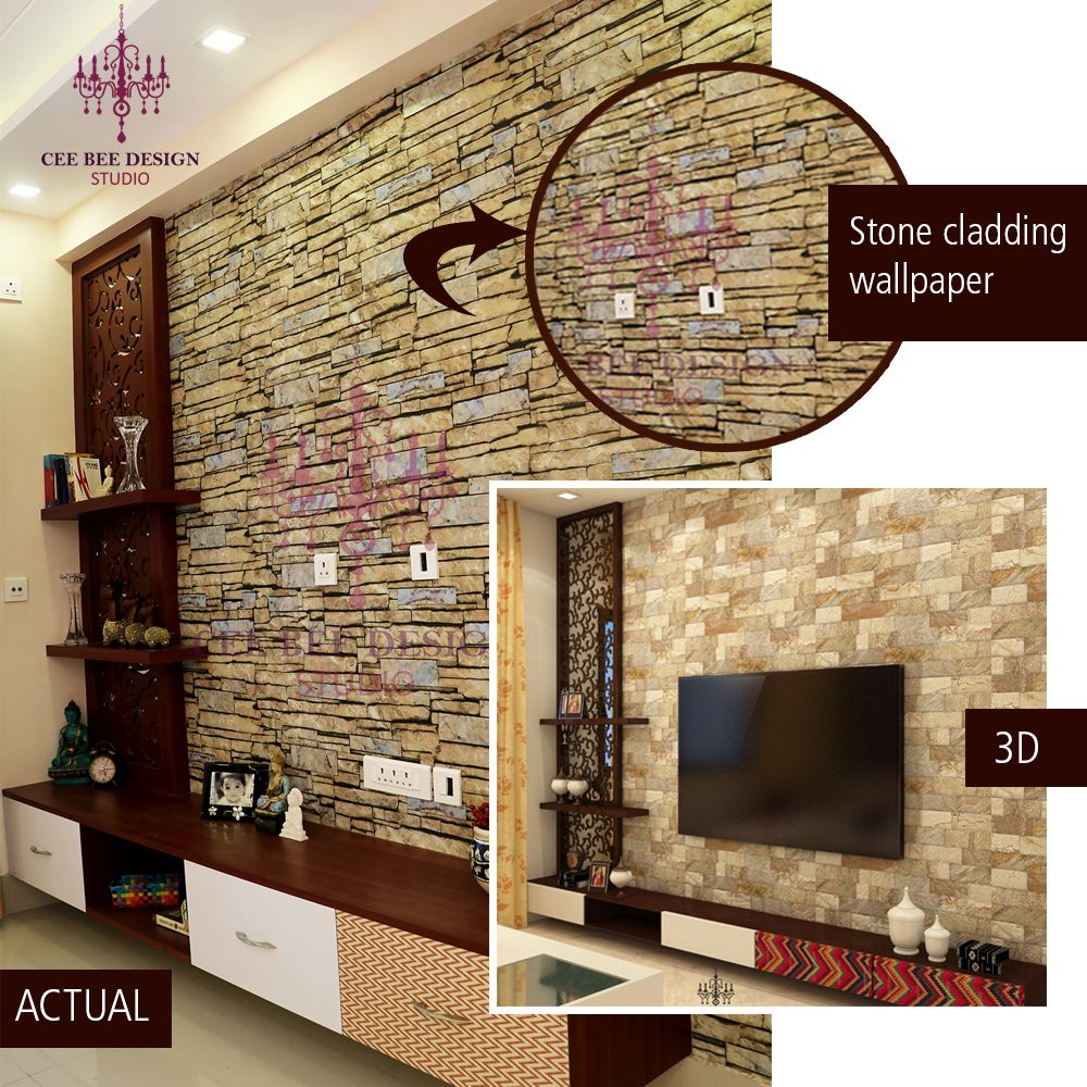Home Design Ideas Bangalore: #fauxwallpaper #interiordesigner #interiordesign