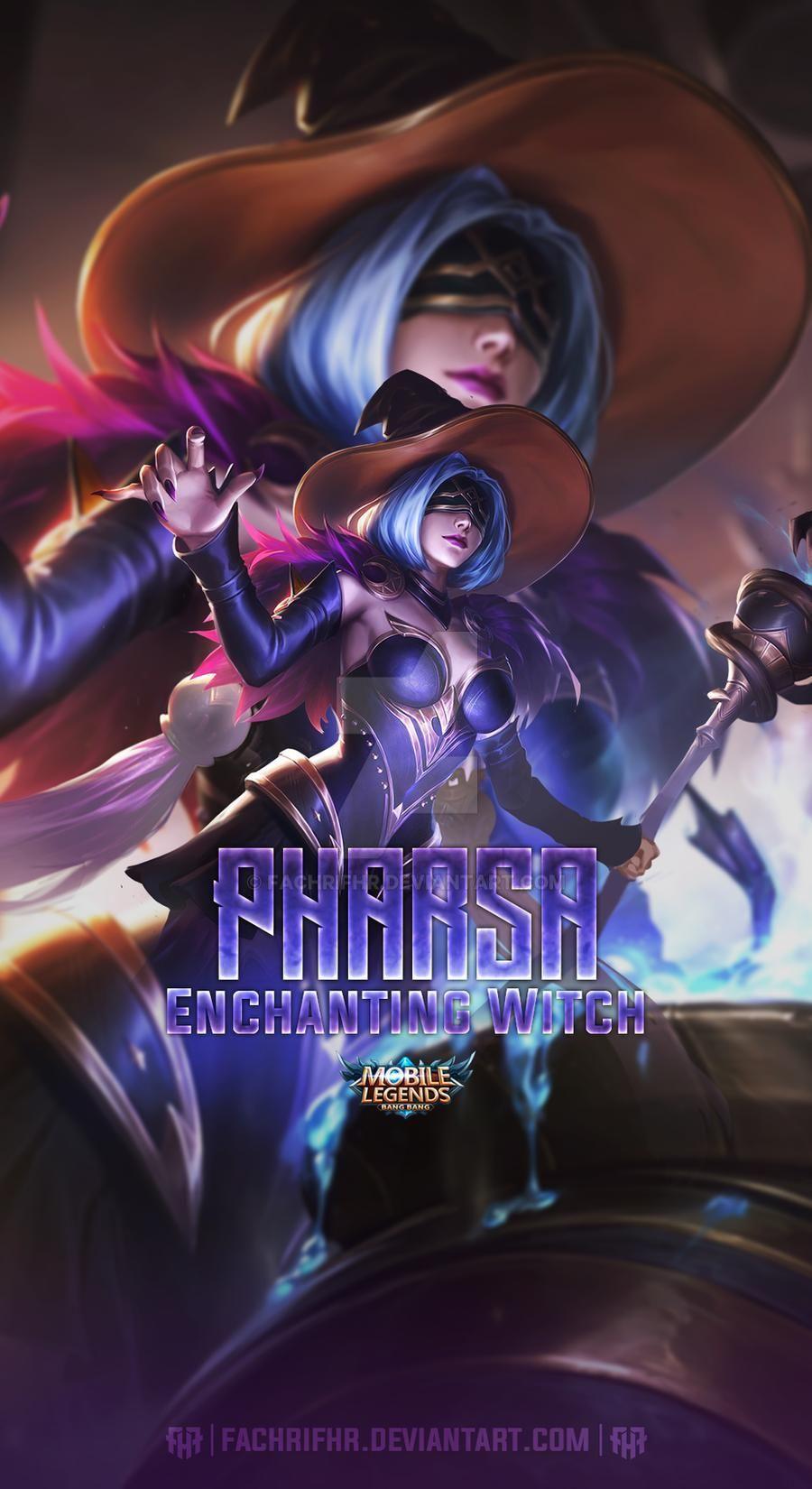 Pharsa Enchanting Witch By Fachrifhr On Deviantart In 2020 Mobile Legend Wallpaper Mobile Legends The Legend Of Heroes