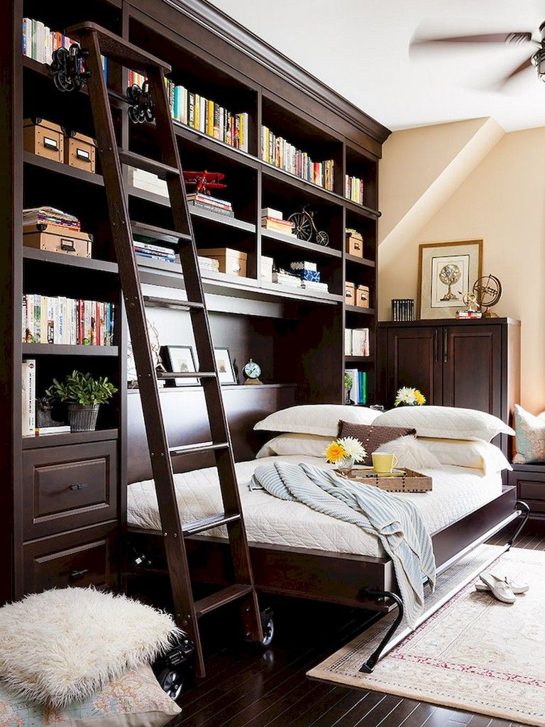 30+ Creative Easy Apartment Bedroom Hack Ideas (With ...