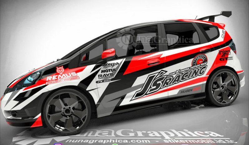 Honda Jazz Rally Nuna Graphica Desain Mobil Balap Mobil Honda