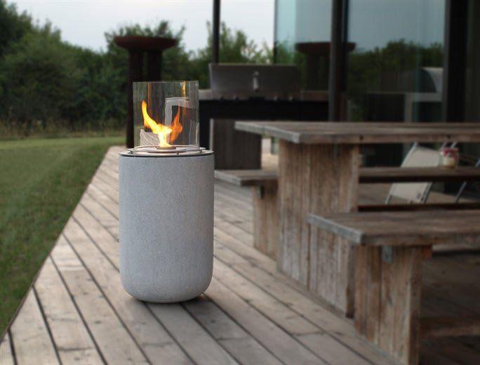 Ethanol Feuerstelle in Beton-Optik Für Haus und Garten Pinterest - feuerstelle fur den garten