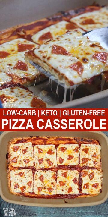 Keto Pizza Casserole images