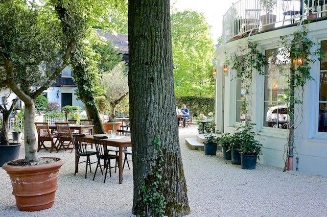 Erster vegetarischer Biergarten Münchens Garden im Parkhotel Prinz