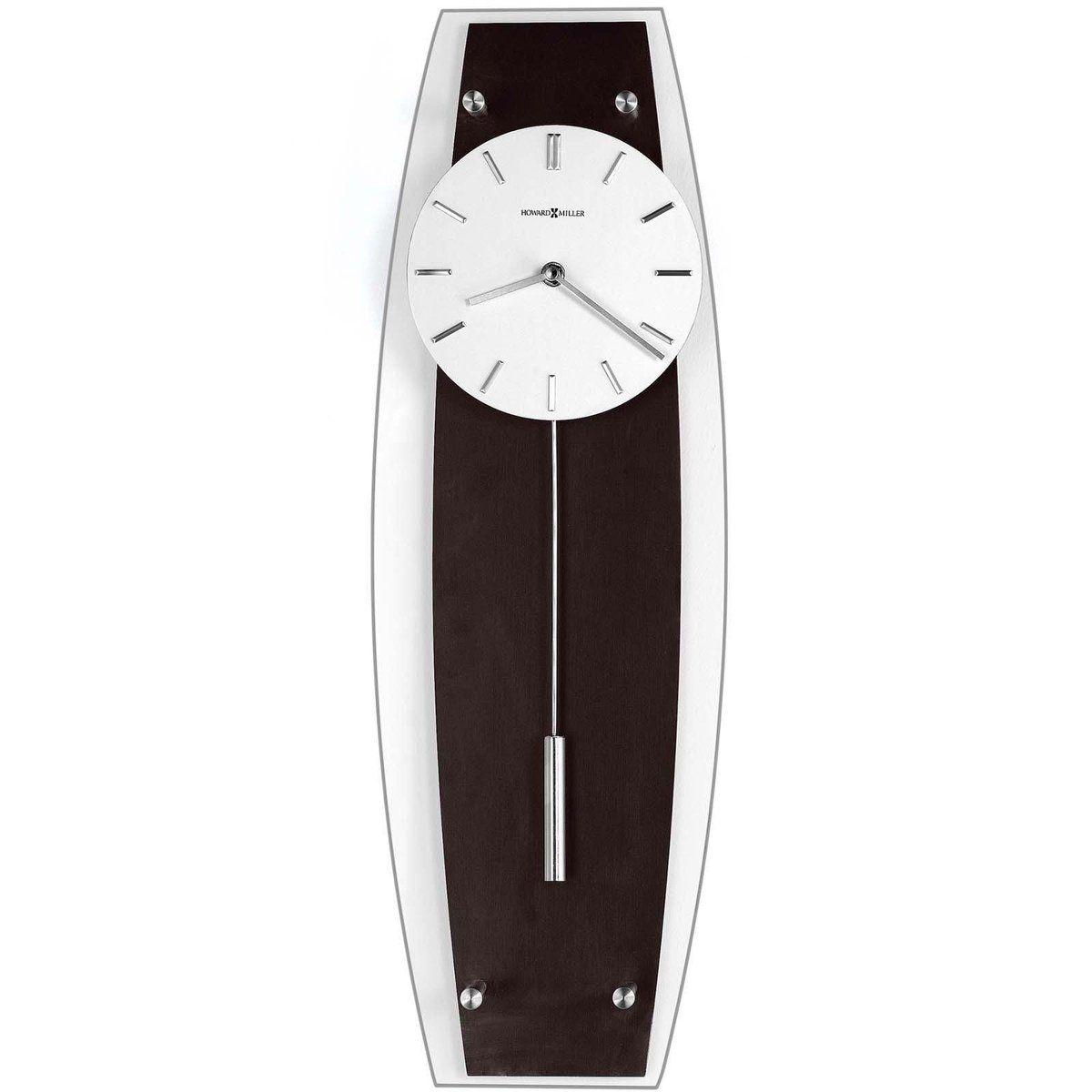 Howard Miller 625 401 Cyrus Wall Clock Front Wall Clock Clock Contemporary Wall Clock