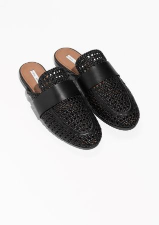 & OTHER STORIES Slip On Leather Loafers OYk46ITU