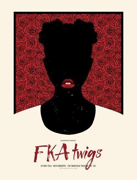 FKA twigs poster by Lil Tuffy