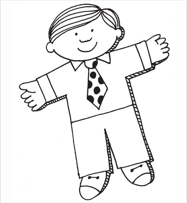 Flat Stanley Template   Free Pdf Download  Sample Templates