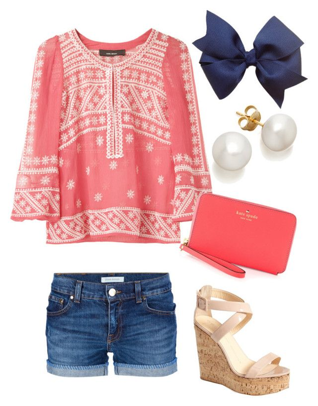 """""""Untitled #114"""" by vineyard-vines-love ❤ liked on Polyvore featuring Isabel Marant, Pierre Balmain, Kate Spade and Giuseppe Zanotti"""