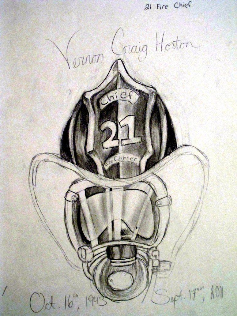 firefighter helmet tattoo sketch by sakura koi on deviantart fire